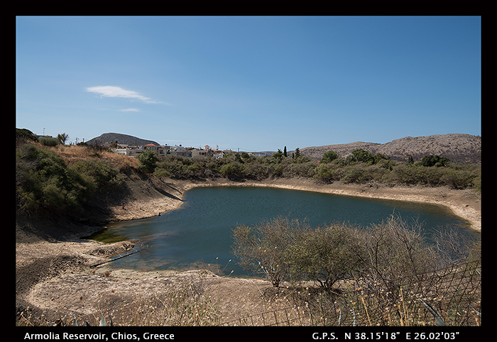 Armolia Reservoir, Chios, Greece 8-1014 WP