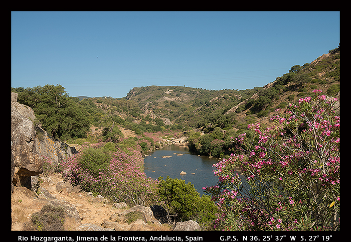 Rio Hozgarganta, Jimena de la Frintera, Andalucia, Spain 8-1982