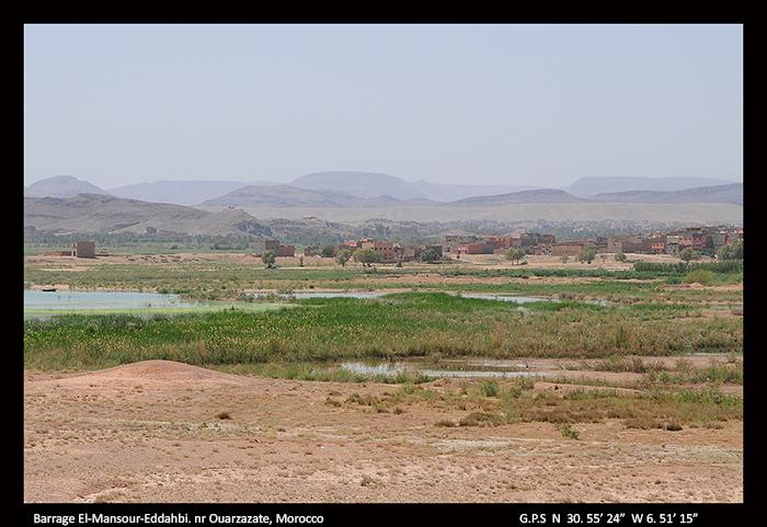 Barrage El-Mansour-Eddahbi, nr Ouarzazate, Morocco 700+
