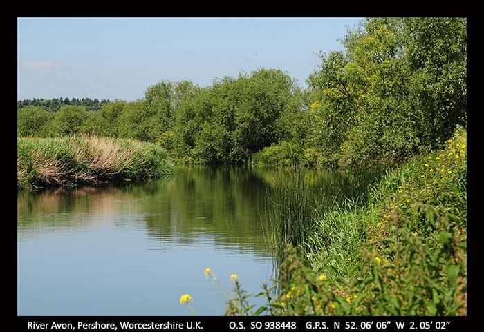 River Avon, Pershore, Worcs A