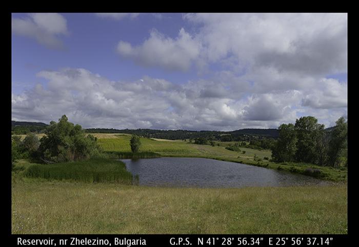 Reservoir, nr Zhelezino, Bulgaria WP 8-8369