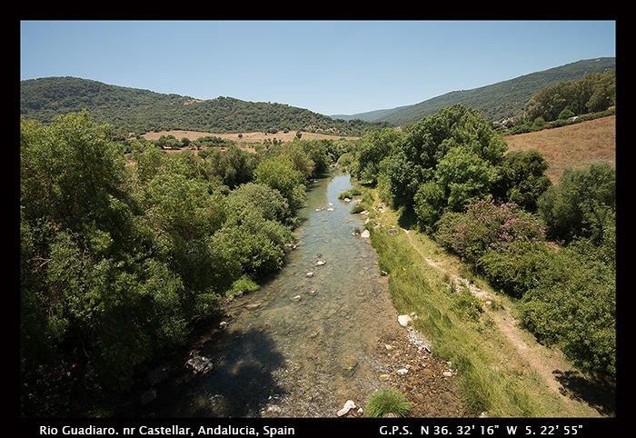 Rio Guadiaro, nr Castellar, Andalucia, Spain 8-2038