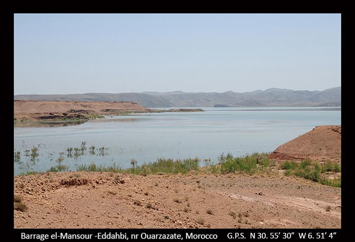 Barrage El-Mansour-Eddahbi, nr Ouarzazate, Morocco A1