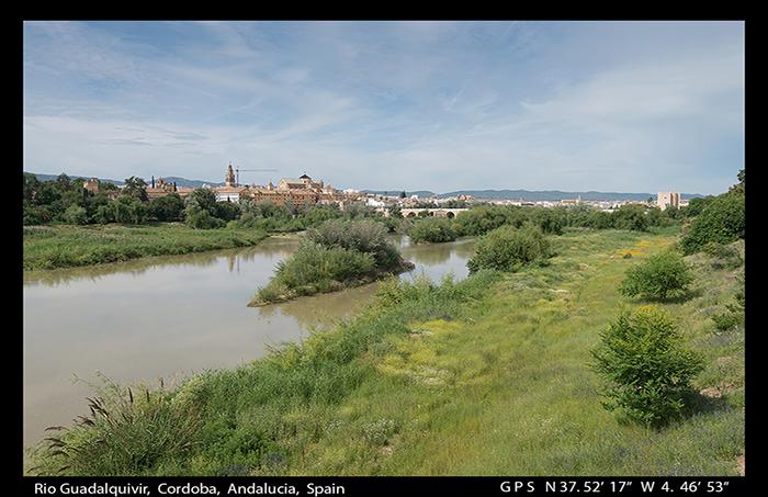 Rio Guadalquivir, Cordoba, Andalucia, Spain WP